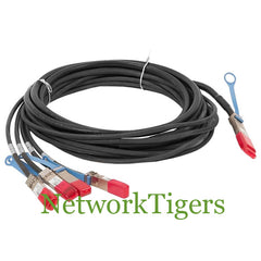 Cisco QSFP-4SFP10G-CU5M 1x 40G QSFP to 4x 10G SFP+ 5m Breakout Cable - NetworkTigers