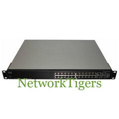 Cisco SF300-24MP-K9-NA 24x Fast Ethernet PoE+ 2x GE 2x 1G Combo Switch - NetworkTigers