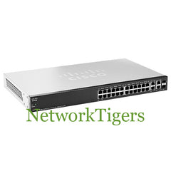 Cisco SF300-24PP-K9-NA Small Business 300 24x FE PoE+ 2x Gigabit Combo Switch - NetworkTigers