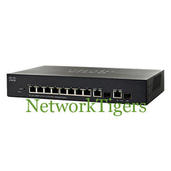Cisco SF302-08MPP-K9-NA Small Business 300 8x Fast Ethernet 2x 1G Combo Switch - NetworkTigers