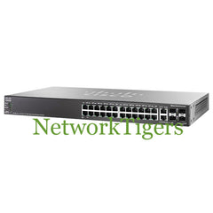 Cisco SF500-24 Small Business 500 Series 24x FE 2x 1G Combo 2x 1G SFP Switch - NetworkTigers