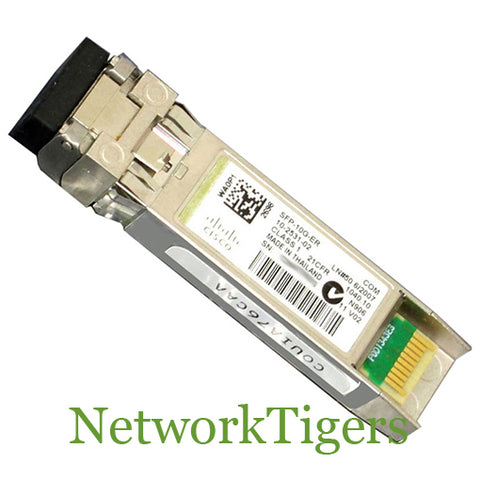 Cisco SFP-10G-ER 10 Gigabit BASE-ER SMF SFP+ Optical Transceiver - NetworkTigers