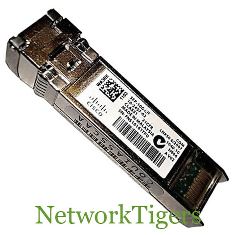 Cisco SFP-10G-LR 10 Gigabit 1310 nm Optical SFP+ Transceiver - NetworkTigers