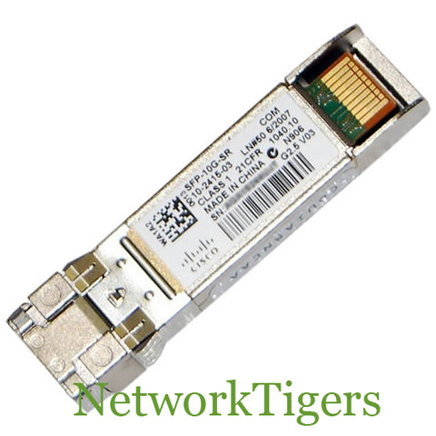 Cisco SFP-10G-SR 1x 10 Gigabit Ethernet Transceiver SFP+