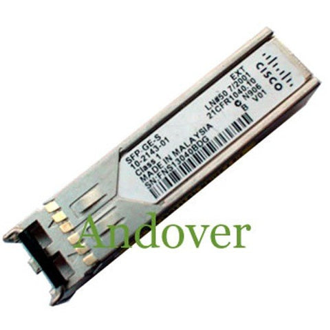 Cisco SFP-GE-S 1 Gigabit BASE-SX MMF Optical SFP Transceiver