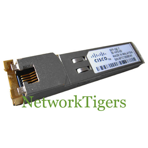 Cisco SFP-GE-T 1 Gigabit BASE-T SFP Optical Transceiver