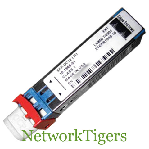 Cisco SFP-OC12-LR1 OC-12/STM-4 Long-Reach Optical SFP Transceiver
