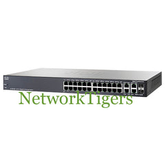 Cisco SG300-28P Small Business 300 24x GE PoE RJ-45 2x 1G Combo Switch