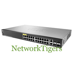 Cisco SG350-28MP-K9 Small Business 350 24x GE PoE+ RJ-45 2x 1G Combo Switch
