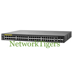 Cisco SG350-52P Small Business 350 48x GE PoE+ 2x 1G Combo 2x SFP Switch