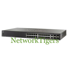 NEW Cisco SG500-28-K9-NA Small Business 500 24x GE 4x 1G Combo Switch