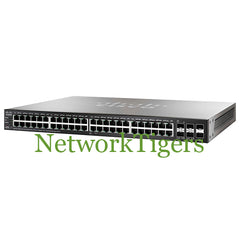 Cisco SG500X-48-K9-NA SB 500 Series 48x Gigabit Ethernet 4x 10G SFP+ Switch