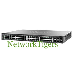 Cisco SG500X-48MP-K9-NA 500X Small Business 48x GE MAX PoE+ 4x 1G SFP+ Switch