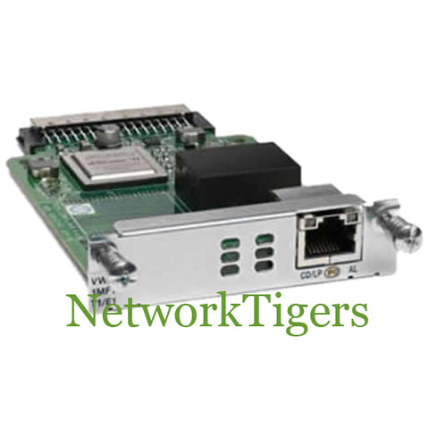 Cisco VWIC3-1MFT-T1/E1 1-Port T1/E1 Multiflex VWIC Card