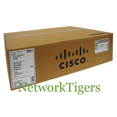 NEW Cisco WS-C2960C-8PC-L 8x Fast Ethernet PoE 2x 1G SFP Lan Base Switch - NetworkTigers