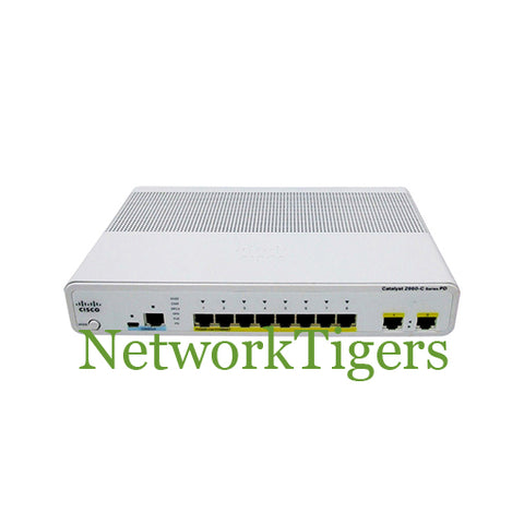 Cisco WS-C2960CPD-8PT-L 2960-C Series 8x Fast Ethernet LAN Base Switch - NetworkTigers