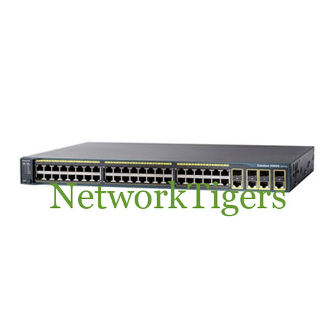 Cisco WS-C2960G-48TC-L 2960 48 Port Catalyst Gigabit 4 Port SFP Switch