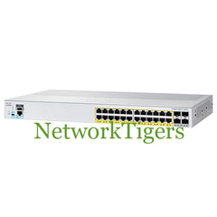 Cisco WS-C2960L-24PS-LL C2960-L Series 24x Gigabit Ethernet 4x 1G SFP Switch