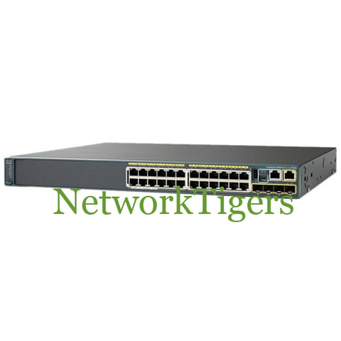 Cisco WS-C2960S-24TS-L 2960-S Series 24x GE 4x 1G SFP LAN Base Switch