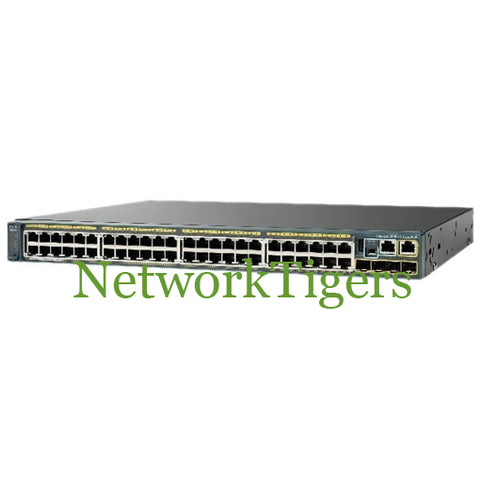 Cisco WS-C2960S-48FPS-L 48x Gigabit Ethernet PoE+ 2x 1G SFP LAN Base Switch