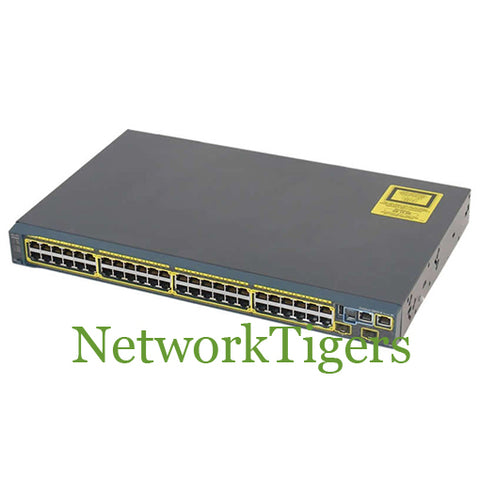 Cisco WS-C2960S-48TD-L 48x Gigabit Ethernet 2x 10G SFP+ LAN Base Switch