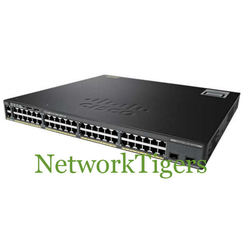 Cisco WS-C2960X-48FPD-L 2960-X Series 48 Port Gigabit PoE 2 Port SFP+ Switch