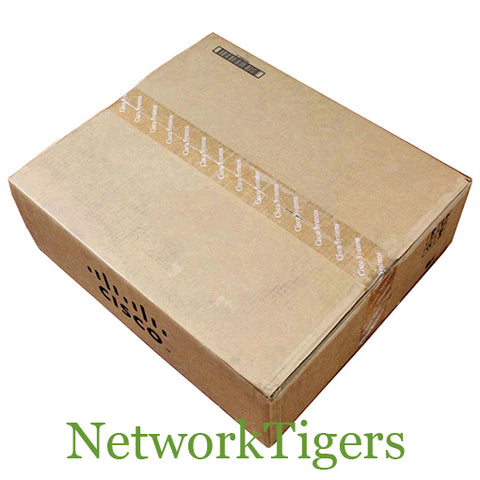 NEW Cisco WS-C3560CX-8PC-S 3560-CX Series 8x Gigabit PoE+ 2x SFP 2x GE Switch - NetworkTigers