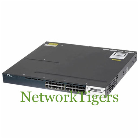 Cisco WS-C3560X-24P-S C3560X Series 24x Gigabit Ethernet PoE+ IP Base Switch