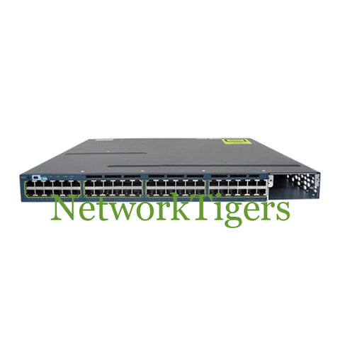 Cisco WS-C3560X-48P-L C3560X Series 48x Gigabit Ethernet PoE+ LAN Base Switch