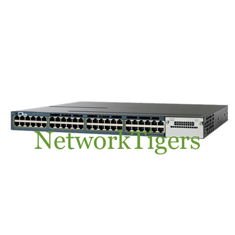 Cisco WS-C3560X-48P-S C3560X Series 48x Gigabit Ethernet PoE+ IP Base Switch