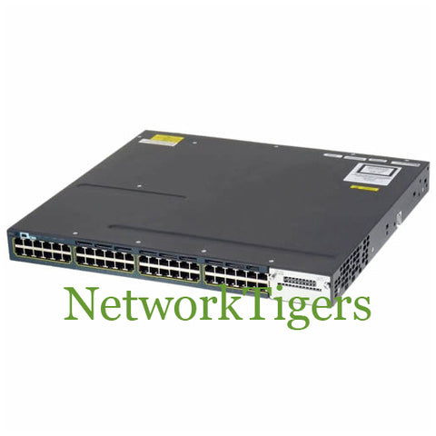 Cisco WS-C3560X-48U-S Catalyst 3560X 48x Gigabit Ethernet UPOE IP Base Switch