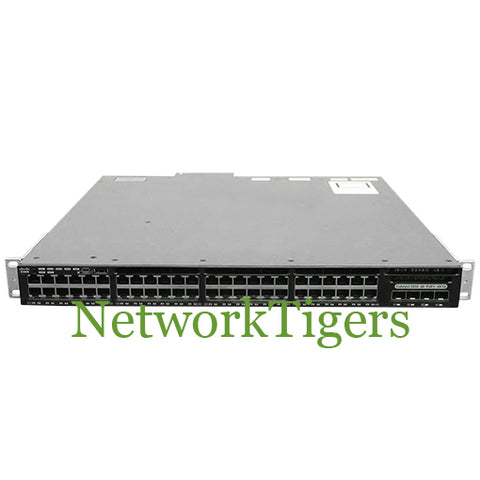 Cisco WS-C3650-48FQM-L 48 Port PoE+ 4 Port 10G SFP+ LAN Base Switch