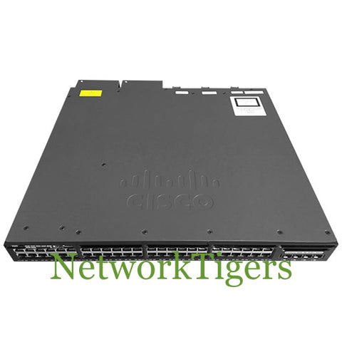 Cisco WS-C3650-48FWD-S Catalyst 48x Gigabit FPoE 2x10G 5 AP Licenses Switch