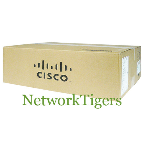 NEW Cisco WS-C3750E-48TD-SD 48x Gigabit Ethernet 2x 10G X2 IP Base Switch - NetworkTigers