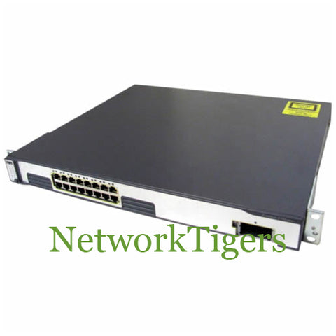Cisco WS-C3750G-16TD-E 16x Gigabit Ethernet 1x 10G XENPAK IP Services Switch