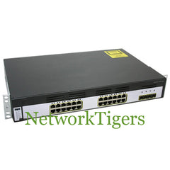 Cisco WS-C3750G-24TS-E 24x Gigabit Ethernet 4x 1G SFP IP Services Switch - NetworkTigers