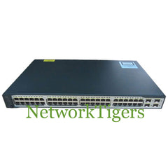 Cisco WS-C3750V2-48PS-E 48x Fast Ethernet PoE 4x 1G SFP IP Services Switch - NetworkTigers