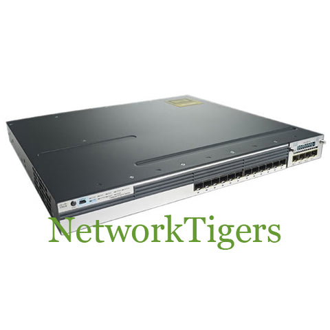 Cisco WS-C3750X-12S-E C3750X Series 12x Gigabit Ethernet SFP IP Services Switch - NetworkTigers