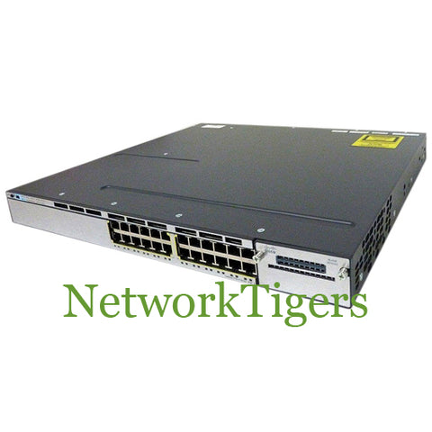 Cisco WS-C3750X-24P-S C3750X Series 24x Gigabit Ethernet PoE+ IP Base Switch