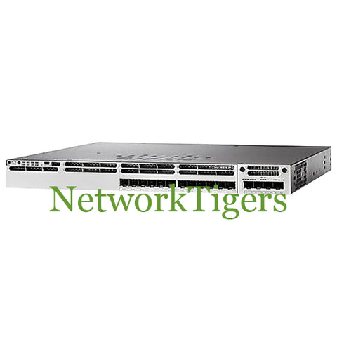 Cisco WS-C3850-16XS-E 12x 10G SFP+ w/ 4x 10G SFP+ Module IP Services Switch