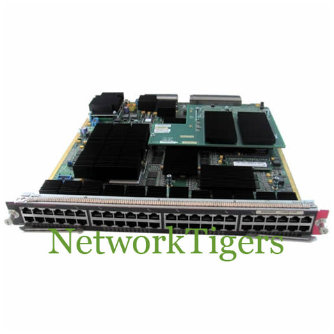 Cisco WS-X6748-GE-TX 48x 1GB RJ-45 Forwarding 720 Module w/ DFC3A