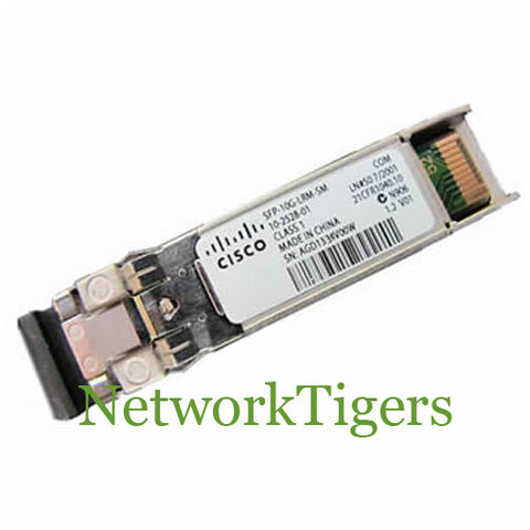 Cisco SFP-10G-LRM 10 Gigabit 1310 nm Optical SFP+ Transceiver - NetworkTigers