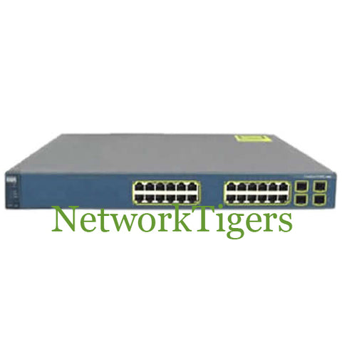 Cisco WS-C3560G-24PS-S 24x Gigabit Ethernet PoE 4x 1G SFP IP Base Switch