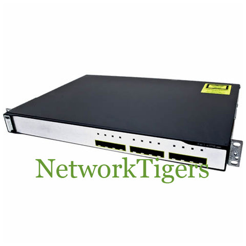 Cisco WS-C3750G-12S-S C3750G Series 12x Gigabit Ethernet SFP IP Base Switch