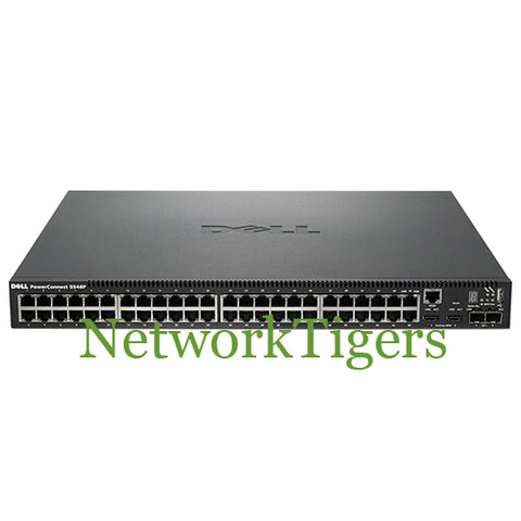 Dell 5548P 469-3420 48 port Stackable Gigabit 802.3af POE Switch