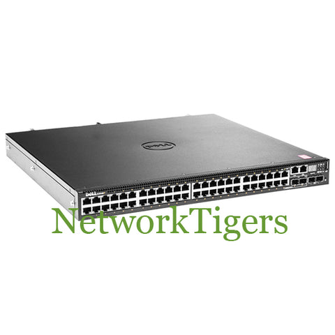 Dell N3048P EMC N3000 48-Port Gigabit PoE (32 PoE+) 2-Port SFP+ Switch