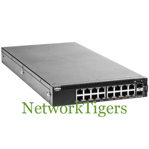 Dell X1018P X-Series 16-Port Gigabit PoE 2-Port SFP Switch