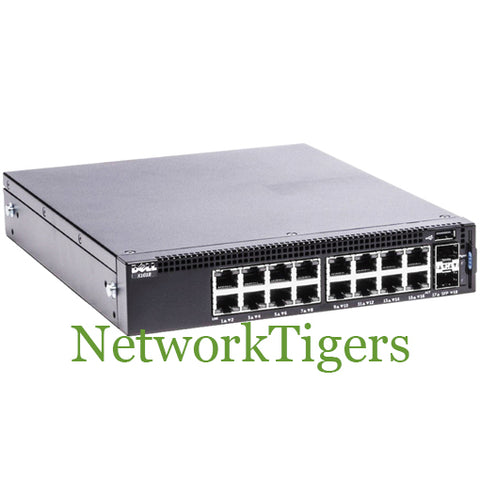 Dell X1018 X-Series Smart Managed Switches 16-Port Gigabit 2-Port SFP Switch