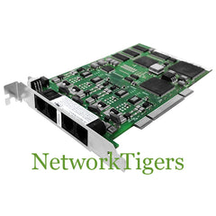 Dialogic D/4PCIUFW JCT Media Family PCI 4-port Analog Voice Fax Board