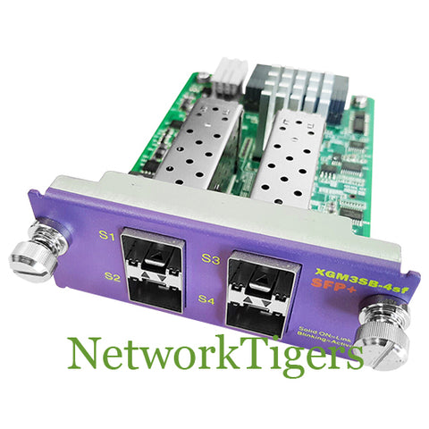 Extreme 16120 X460 Series XGM3SB-4sf 4x 10 Gigabit Ethernet SFP+ Switch Module